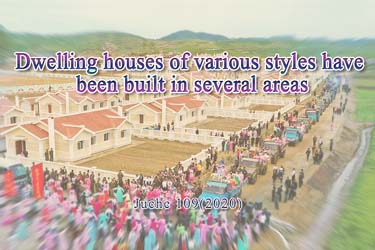 Dwelling houses of various styles have been built in several areas